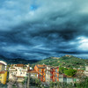 Glowering Skies over Montecatini