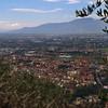 Montecatini Terme from Montecatini Alto