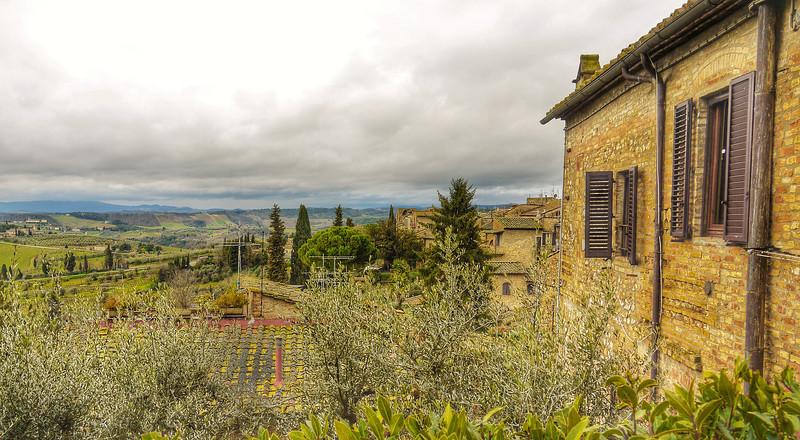 Setting of San Gimignano