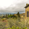 Setting of San Gimignano