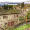 View of San Gimignano area.