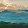 morning light near San Quirico D'Orcia