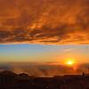 Cortona Fire Sky Sunset