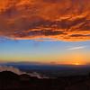Cortona Fire Sky Sunset 2