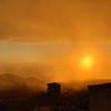 Shrouded Cortona Sunset