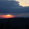 Sunset over Montalcino
