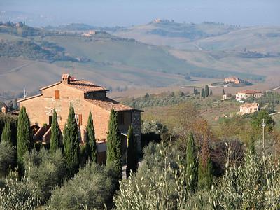 Tuscan Countryside and San Quirico