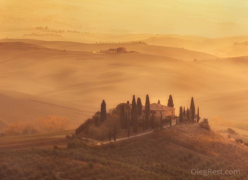 God morning, Tuscany