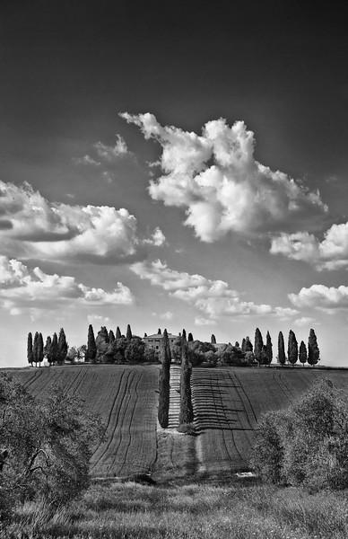 Gladiator Villa; San Quirico d'Orcia; Tuscany; Italy
