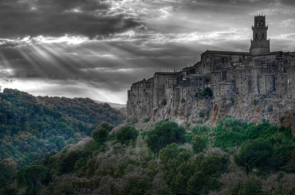 Pitigliano; Tuscany; Italy