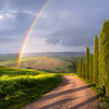 Rainbow in Tuscany