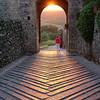 Sunset at Monteriggioni
