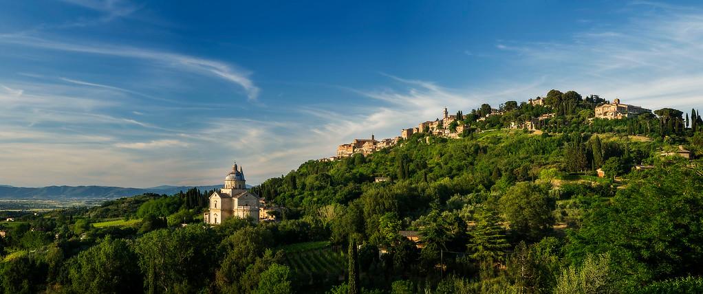 Madonna di San Biagio; Montepulciano; Tuskany; Italy