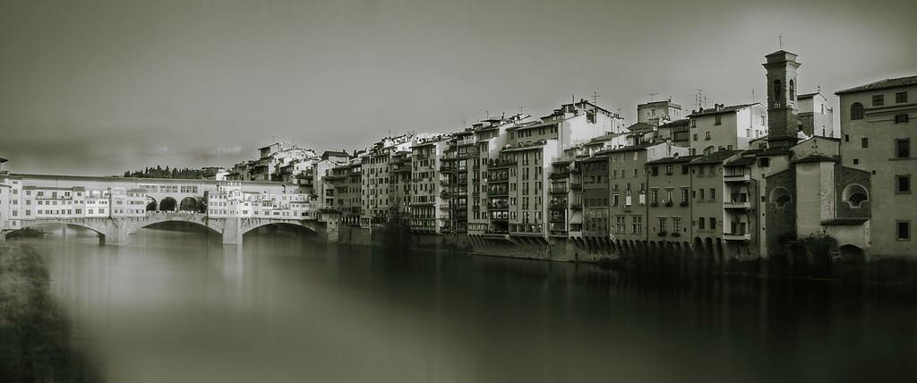 Ponte Vecchio; Florence; Tuscany; Italy