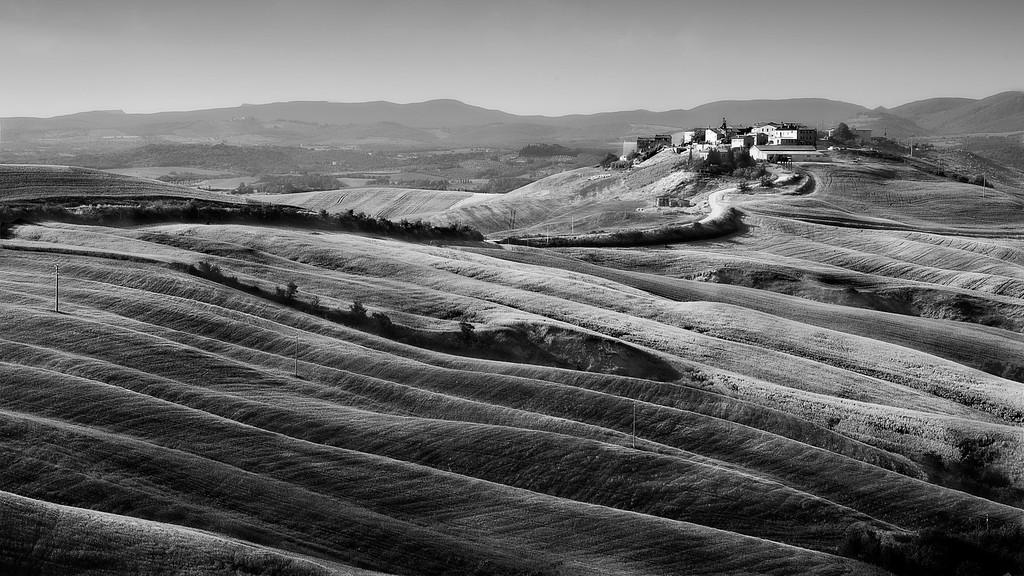 Asciano; Tuscany; Italy