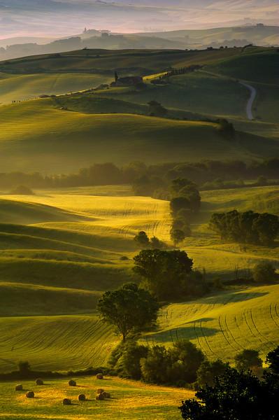 Val d'Orcia; Tuscany; Italy