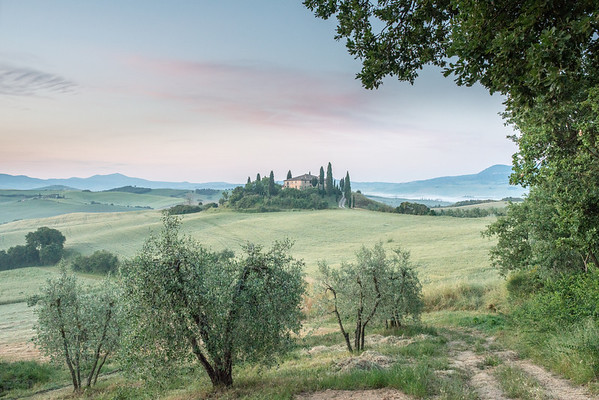 The Belvedere Val d'Orcia, Tuscany, Italy