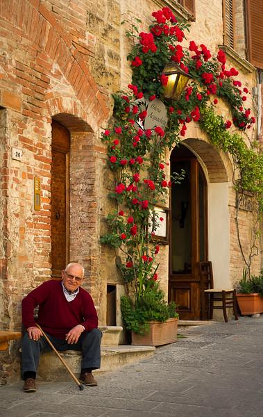 Montepulciano; Tuscany; Italy