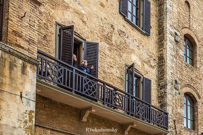 San Gimignano - Piazza della Cisterna