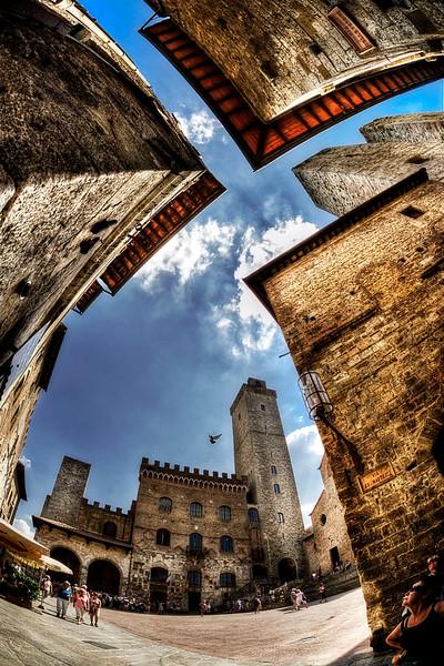 San Gimignano; Tuscany; Italy