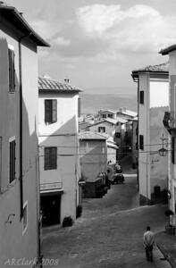 Backstreet, Montalcino.