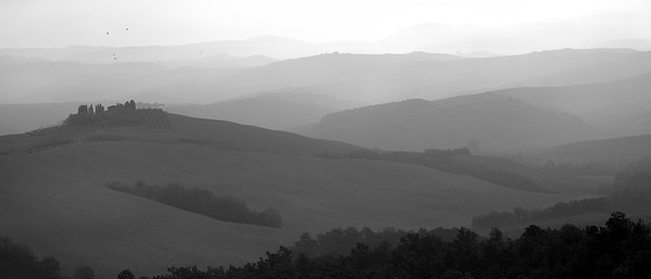 Gray Dawn, Tuscany