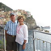 We walked as far as we could on the Manarola trail before reaching a locked gate.