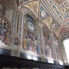 In the Piccolomini Library in the Duomo of Siena  Sept 19