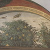The birds represent good and evil in Ognissanti Last Supper