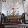 The alter of the Civita church was built on relics of St Victoria