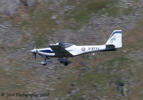 G-BYVJ/'VJ' (9 AEF) Tutor T.1 - 14th May 2008.