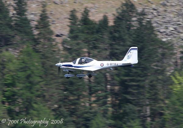 G-BYWJ/'WJ' (10 AEF) Tutor T.1 - 14th May 2008.