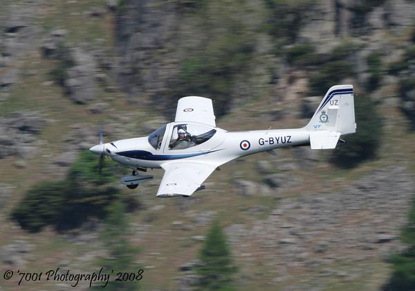 G-BYUZ/'UZ' (10 AEF) Tutor T.1 - 14th May 2008.
