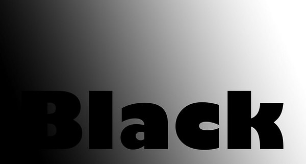 <i>Darken Mode</i> Keeps only the darker pixels from the top layer.  The word white is everywhere at least as light as the background layer, it doesn't make the blend.