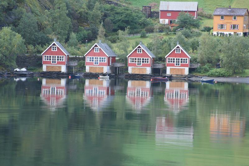 Flaam Boathouses
