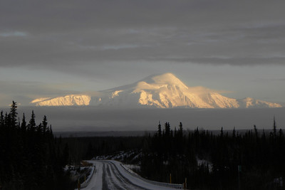 Another series, this of Mt Sanford in the November late afternoon sun.  Standard exposure:  0 EV