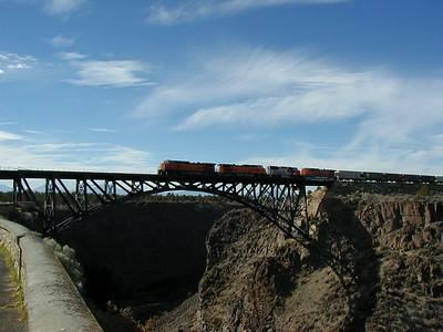 Railroad Trestle at Terrebonne, Oregon