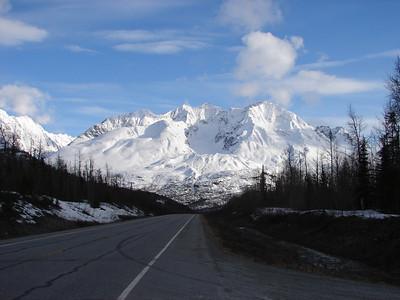 Mt Billy Mitchell Under Pale Blue Sky