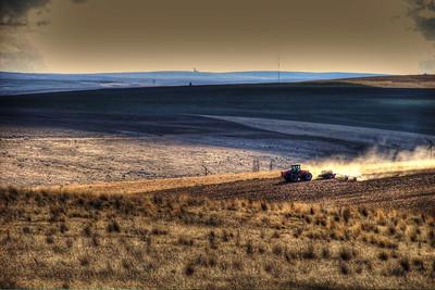 Oregon Grain Farmer - simulated bracketing used for HDR effect