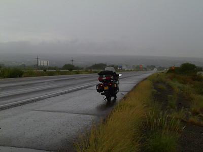 Wet Morning in Benson, AZ