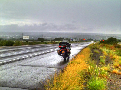 Brighter Wet Morning in Benson, AZ