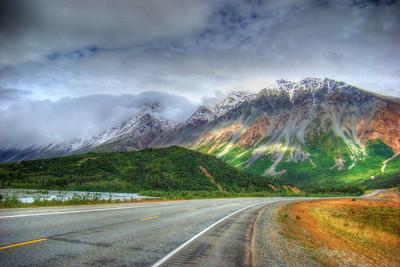 Rainbow Ridge from the Southwest w/simulated bracketing & HDR