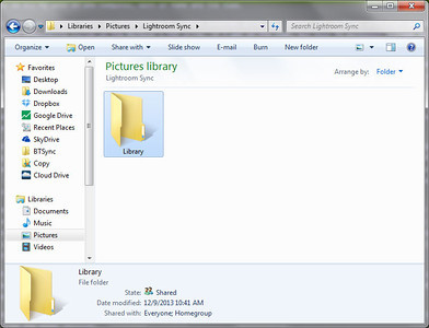 Create Your Library Folder