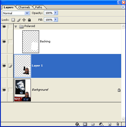 Press (PC: <i>Control + J</i>, Mac: <i>Command + J</i>) to copy the contents of the background layer inside our selection, and place them on a new layer.