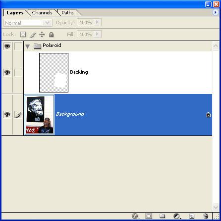 Press (PC: <i>Alt + Shift + [, Mac: </i>Option + Shift + [</i>). This selects the background layer.
