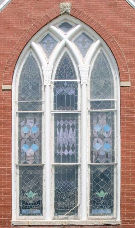 And here is the window, with the perspective corrected!