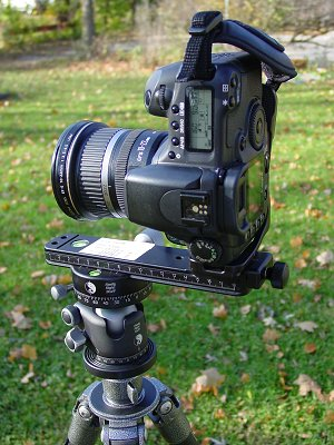 """Calibrating a Panoramic Head for Your Lens  By <a href=""""http://davidwatts.smugmug.com"""" target= """"_blank"""">Dave Watts</a>.  To eliminate the possibility of parallax errors (things not lining up properly) when stitching individual frames into panoramics, it is necessary to calibrate your panoramic head for the lenses and focal lengths you frequently use.  In this example we will calibrate a Really Right Stuff MPR-CLII nodal slide for a Canon 10-22 lens at 22mm in portrait orientation for use with the RRS L-bracket, and PCL-II panning clamp atop a BH-40 ballhead.  The basics described here should apply no matter what equipment you use. I should mention this tutorial is meant as a guide for single-row panoramas."""
