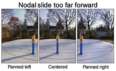 ...This isn't good either. The nodal slide is too far forward and we have the opposite problem.