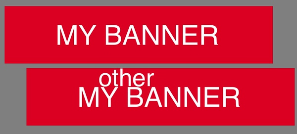 HAVING DIFFERENT BANNERS IN DIFFERENT CATEGORIES or GALLERIES<br /> <br /> <br /> First, make sure you create and upload a second banner.