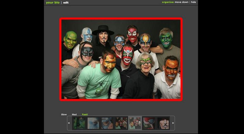 """Need more coolness? Check out <a href=""""http://wiki.smugmug.com/display/SmugMug/Flash+Slideshow"""">the offical slideshow page</a> for more options"""